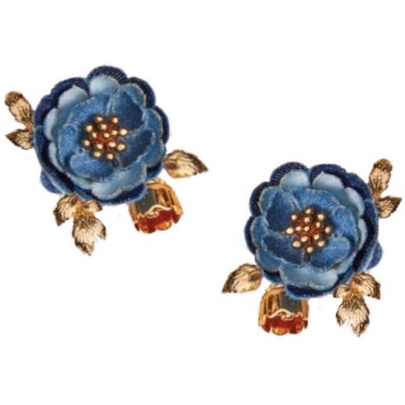 kate spade Jewelry - Kate Spade Flower Child Cluster Earrings